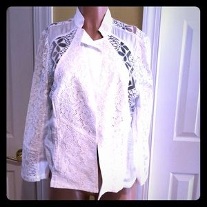 White Jacket. Never Worn.